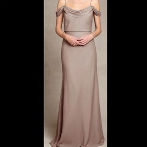 Nude bridesmaid dress 😍